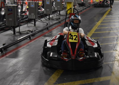 Gokart going to race at CABA event